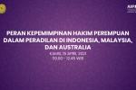 Para Hakim Perempuan Pengadilan Agama Sukadana Menghadiri Webinar Peran Kepemimpinan Hakim Perempuan dalam Peradilan di Indonesia, Malaysia, dan Australia