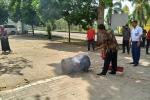 Simulasi Pemadam Kebakaran di lingkungan Pengadilan Agama Sukadana